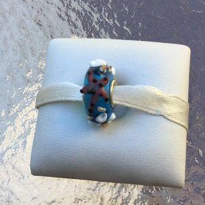 Bead starfish &coral works w/pandora new